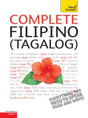 Complete Filipino (Tagalog) Beginner to Intermediate Book and Audio Course Learn to Read,  Write,  Speak and Understand a New Language with Teach Yourse