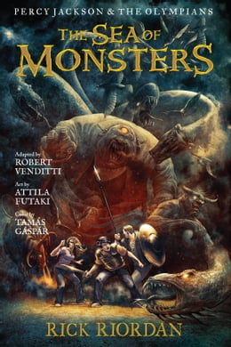 Book Percy Jackson and the Olympians: The Sea of Monsters: The Graphic Novel by Rick Riordan, Robert Venditti