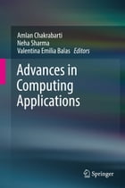 Advances in Computing Applications by Amlan Chakrabarti