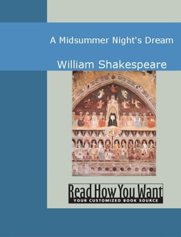 Book A Midsummer Night's Dream by Shakespeare,William