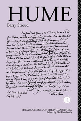 Book Hume by Stroud, Barry
