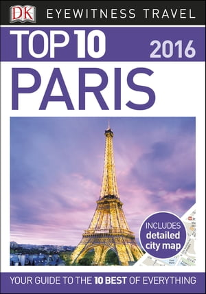 DK Eyewitness Top 10 Travel Guide Paris