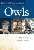 Ecology and Conservation of Owls