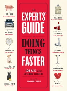 Book The Experts' Guide to Doing Things Faster: 100 Ways to Make Life More Efficient by Samantha Ettus