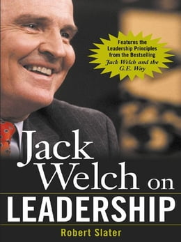 Book Jack Welch on Leadership by Slater, Robert