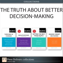 Book The Truth About Better Decision-Making (Collection) by Robert E. Gunther