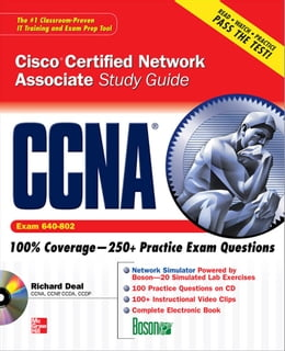 Book CCNA Cisco Certified Network Associate Study Guide (Exam 640-802) by Richard Deal