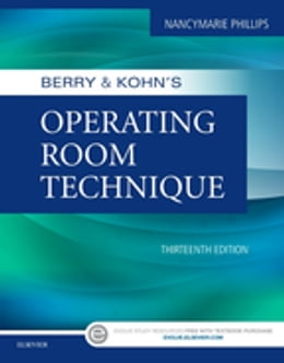 Book Berry & Kohn's Operating Room Technique by Nancymarie Phillips