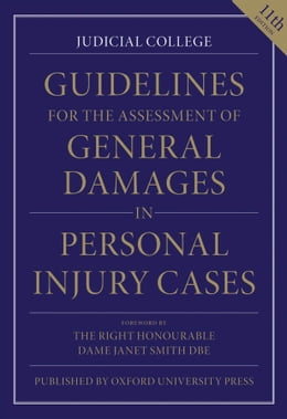 Book Guidelines for the Assessment of General Damages in Personal Injury Cases by Judicial College