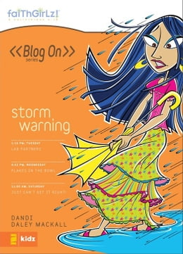 Book Storm Warning by Dandi Daley Mackall