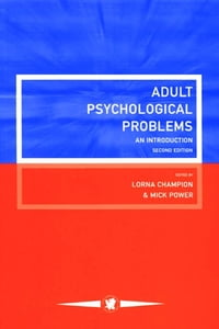 Adult Psychological Problems: An Introduction