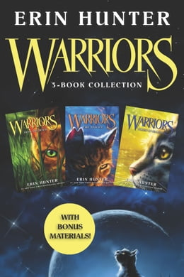 Book Warriors 3-Book Collection with Bonus Material: Warriors #1: Into the Wild; Warriors #2: Fire and… by Erin Hunter