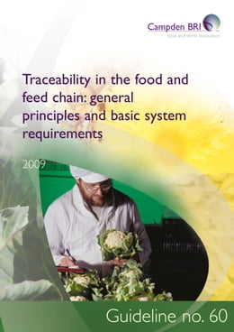 Book Traceability in the food and feed chain: general principles and basic system requirements by Dr Chris Knight