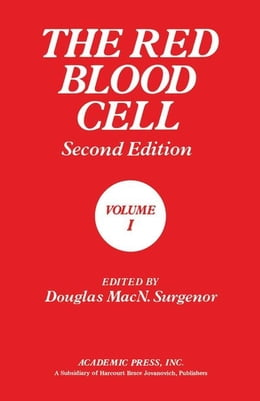 Book The Red Blood Cell by Surgenor, Douglas