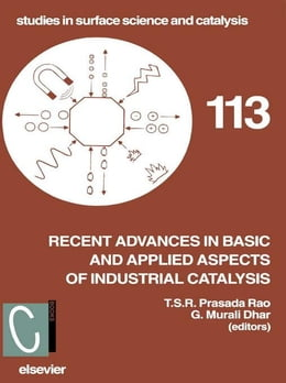 Book Recent Advances in Basic and Applied Aspects of Industrial Catalysis by Prasada Rao, T.S.R.