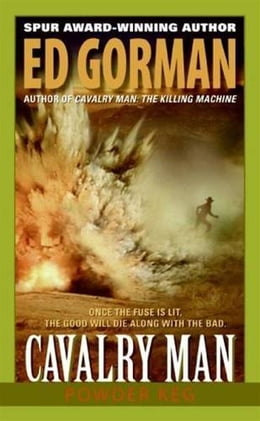 Book Cavalry Man: Powder Keg by Ed Gorman