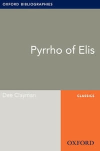 Pyrrho of Elis: Oxford Bibliographies Online Research Guide