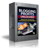 BLOGGING PROFITS UNLEASHED by Jon Sommers