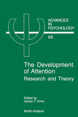 Book The Development of Attention: Research and Theory by Enns, J.T.
