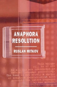 Anaphora Resolution