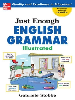 Book Just Enough English Grammar Illustrated by Stobbe, Gabriele