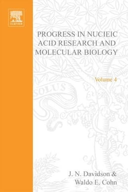 Book Progress in Nucleic Acid Research and Molecular Biology by Davidson, J.N.