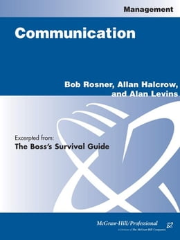 Book The Boss's Survival Guide by Rosner, Bob