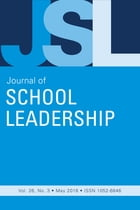 JSL Vol 26-N3 by JOURNAL OF SCHOOL LEADERSHIP