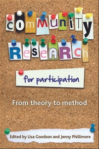 Community research for participation: From theory to method