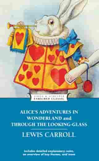 Alice's Adventures in Wonderland and Through the L by Lewis Carroll