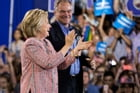 Clinton and Kaine by Brenda Winters
