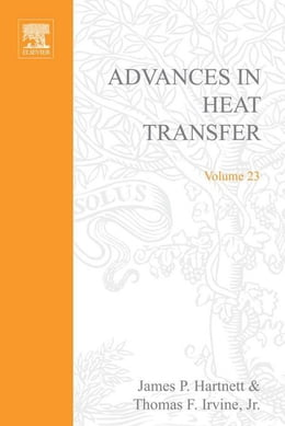 Book Advances in Heat Transfer by Cho, Young I.