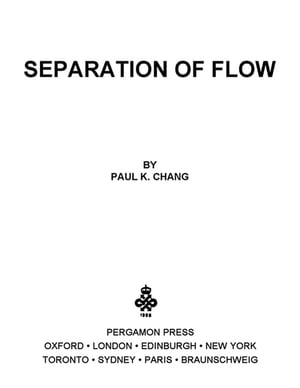 Separation of Flow