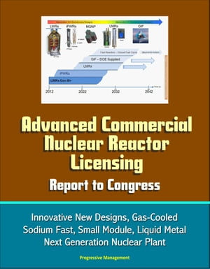 Advanced Commercial Nuclear Reactor Licensing, Report to Congress: Innovative New Designs, Gas-Cooled, Sodium Fast, Small Module, Liquid Metal, Next Generation Nuclear Plant