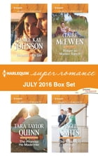 Harlequin Superromance July 2016 Box Set: Because of a Girl\The Promise He Made Her\Return to…