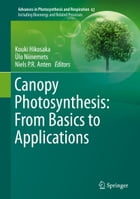 Canopy Photosynthesis: From Basics to Applications by Kouki Hikosaka