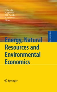 Energy, Natural Resources and Environmental Economics