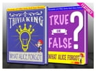 What Alice Forgot - True or False? & Trivia King!: Fun Facts and Trivia Tidbits Quiz Game Books by G Whiz