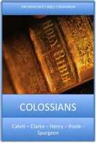 Colossians: The Preacher's Bible Companion by Charles H. Spurgeon