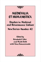 Medievalia et Humanistica, No. 42: Studies in Medieval and Renaissance Culture: New Series by Reinhold F. Glei
