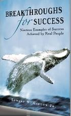 Breakthroughs for Success: 19 Examples of Success Achieved by Real People by Edward Gideon