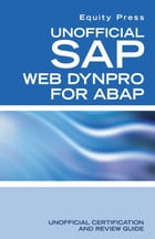 Unofficial SAP WebDynpro for ABAP by Equity Press