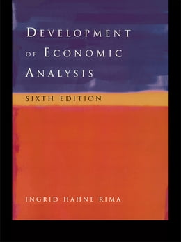 Book Development of Economic Analysis by Ingrid H. Rima