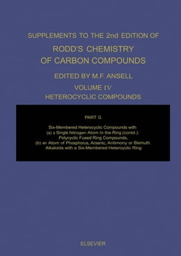 Book Heterocyclic Compounds: A Modern Comprehensive Treatise by Ansell, Martin F.