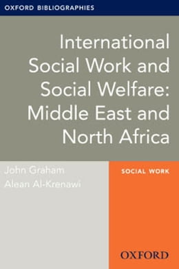 Book International Social Work and Social Welfare: Middle East and North Africa by John Graham