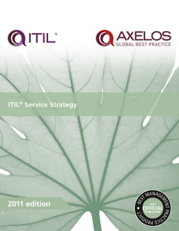 Book ITIL Service Strategy by AXELOS