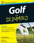 Golf For Dummies by Tony Smart