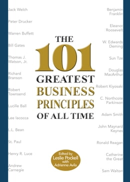 Book The 101 Greatest Business Principles of All Time by Leslie Pockell