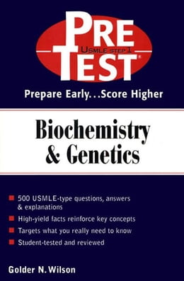 Book Biochemistry & Genetics: PreTest Self-Assessment & Review by Wilson, Golder