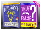 Big Nate - True or False? & Trivia King!: Fun Facts and Trivia Tidbits Quiz Game Books by G Whiz